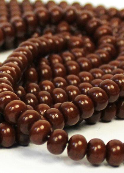 Wooden Chocolate Brown Tasbeeh